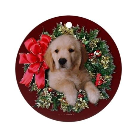 golden retriever puppy ornament golden retriever puppy ornament by eclipsedesigns