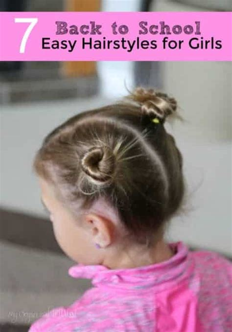quicken easy hairstyles for school 7 back to school easy hairstyles for