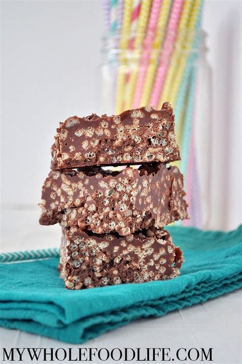 Rice Crispy Bars With Chocolate On Top by 25 Best Ideas About Chocolate Rice Crispy Treats On