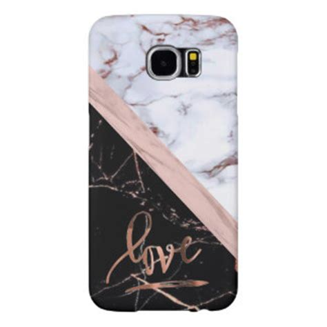 Marble Texture Gray Samsung Galaxy S6 Casing Cover Hardcase white marble samsung galaxy s6 cases covers zazzle au