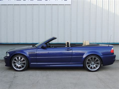 used bmw m3 convertible used 2006 bmw 3 series m3 convertible individual edition