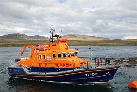 boat life islay lifeboat helmut schroeder of dunlossit ii islay