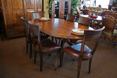 dining room tables oval oval dining room tables 7 pc oval dinette kitchen dining