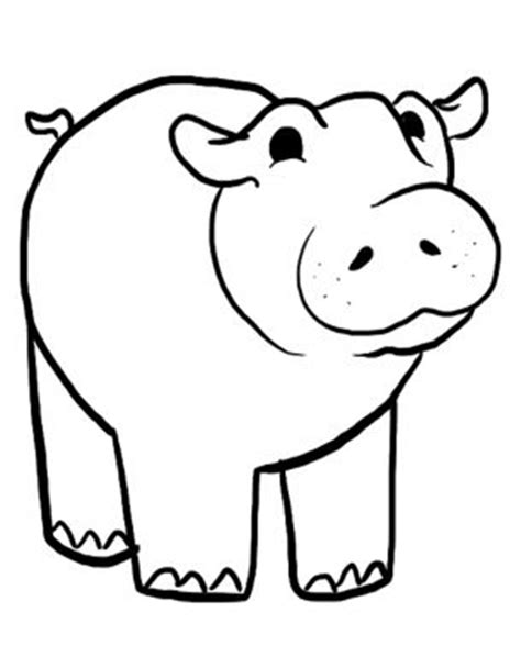 Hungry Hungry Hippos Coloring Page | repin and like this hippo coloring pages sheets
