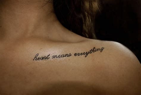 tattoo for girl collar bone 50 most wanted collar bone tattoos
