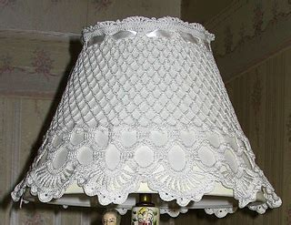 ravelry lovely lampshade cover pattern jo ann maxwell