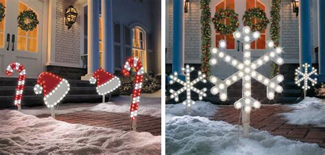 outside christmas decorations dress up your home