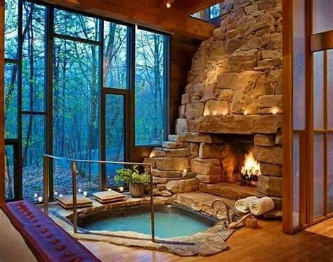tub in the living room for the home