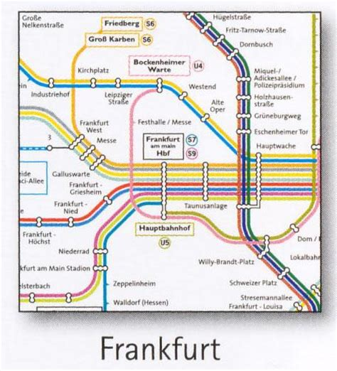 bahn map germany frankfurt transport map germany u bahn and s bahn map