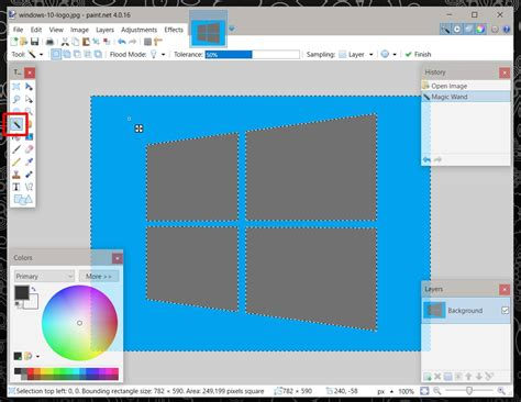 paint tool sai magic wand selecting everything how to remove the background from an image and make it
