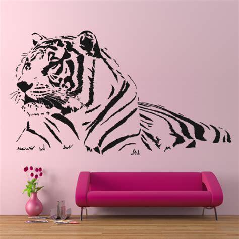 Tiger Wall Stickers wallstickers folies tiger wall stickers
