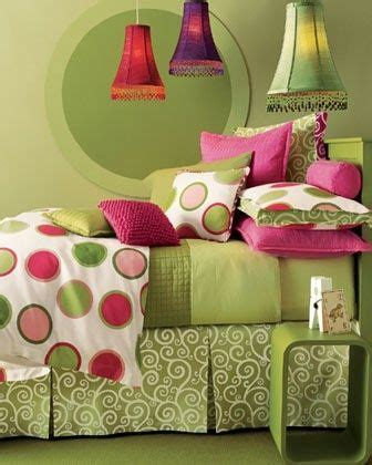 pink and lime green bedroom cerise and lime green polka dot bedroom pink and green pinterest