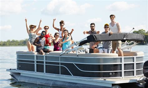 chicago river pontoon boat rental vantage boat share in chicago il groupon