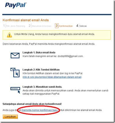 membuat konfirmasi email php cara membuat akun paypal shofyan 91