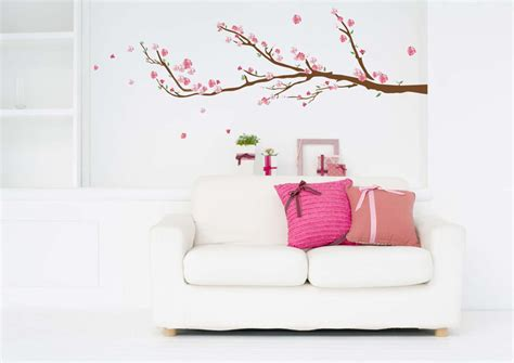 Wall Stickers Cherry Blossom cherry blossoms wall decals rosenberryrooms com