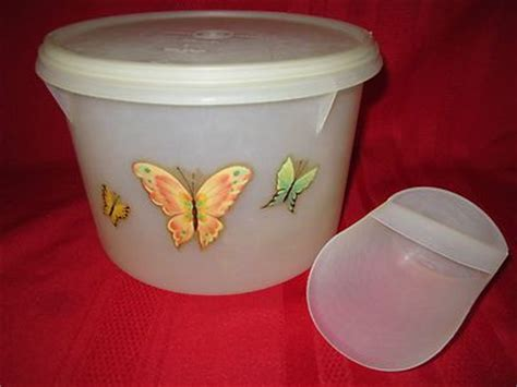 Yellow Choco Tupperware vintage 1954 tupperware handolier canister