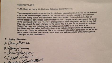 thank you letter to baseball parents thank you letter to parents from a baseball coach just b