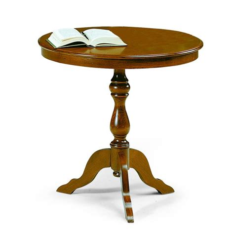 tavolo tondo design tavolo tondo in legno di design diametro 60 cm boffe made