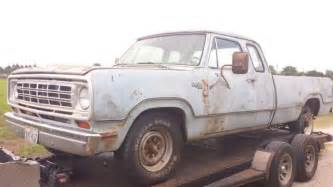 74 dodge d 200 club cab adventurer truck 360 60 for