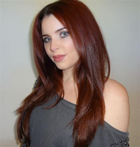 mahogany brown hair color ideas  pinterest