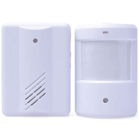 Wireless Alarm Door Sensor by Wireless Door Bell Welcome Alarm Chime Motion Sensor