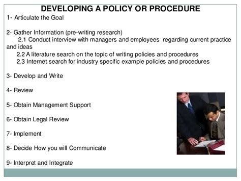 writing effective policies amp procedures2