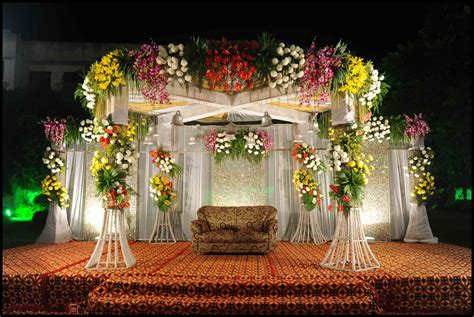 flower decoration for wedding indore events management beautiful flower stage indore