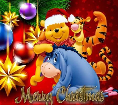 winnie the pooh holiday light merry wallpaper pooh tigger eeyore winnie the pooh wallpapers