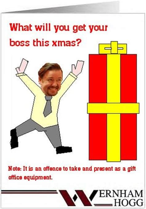 bbc  office corporate christmas card gallery gift  boss   liam berriman