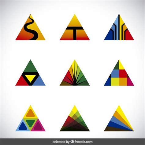 imagenes vectores de triangulos colecci 243 n de tri 225 ngulos abstractos coloridos descargar