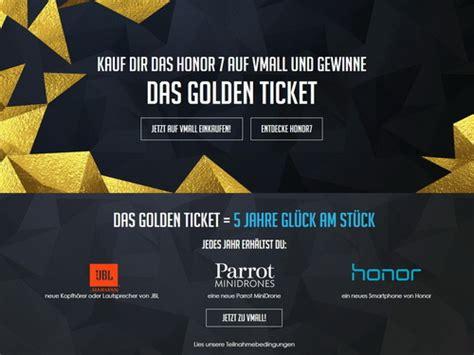 Golden Ticket Sweepstakes - huawei to run golden ticket sweepstakes for honor 7 notebookcheck net news