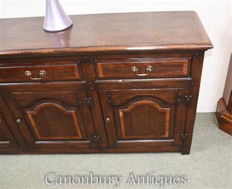 Oak Georgian Dresser Base Server Buffet Sideboard Buffet Sideboard