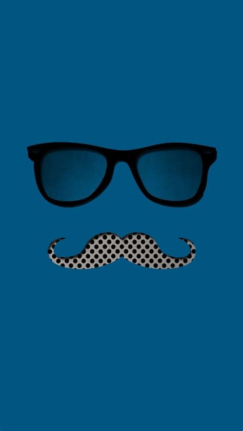 wallpaper for iphone 6 mustache glasses and mustache wallpaper free iphone wallpapers
