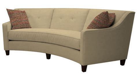 Tousley Curved Sofa By Norwalk Furniture Sofas And Sofa Beds Curved Sofa Bed