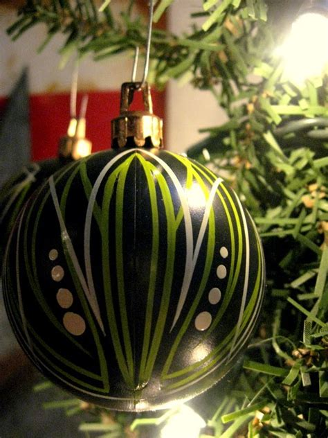 custom pinstriped christmas ornaments myrideisme com