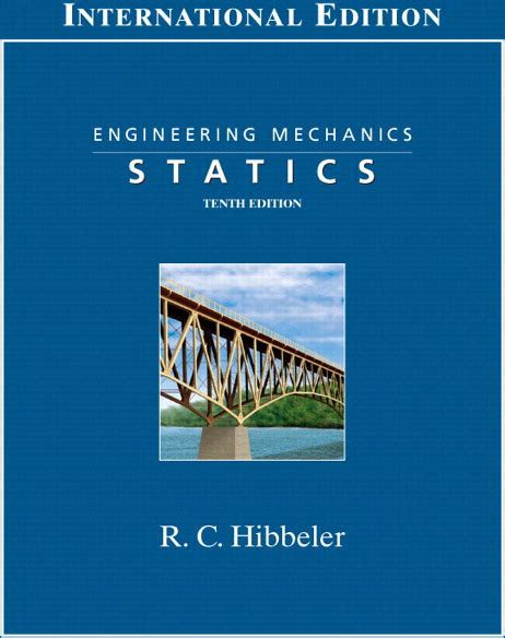 Engineering Mechanics Statics 13th Edition Solution