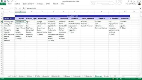 formato en excel control de ingresos y gastos personales sistema de control de ingresos y gastos en excel bs 300