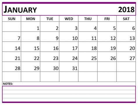printable planner 2018 pdf january 2018 calendar pdf