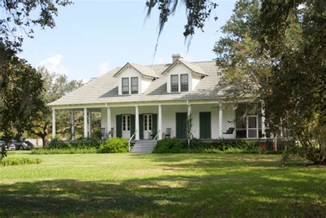 french colonial style pecan grove plantation house