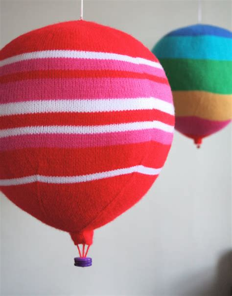 air balloon pattern new moon interiors for kids knit your own hot air balloon