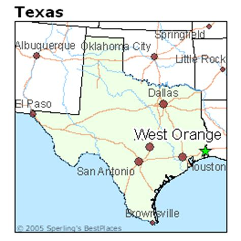 orange texas map best places to live in west orange texas