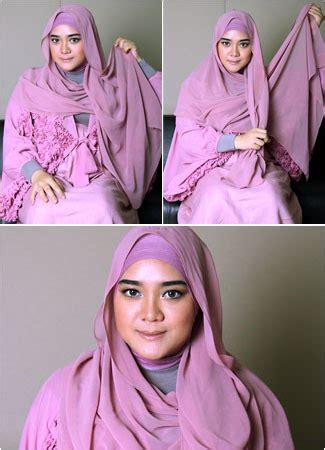tutorial berhijab untuk lebaran tutorial hijab untuk tilan menawan saat idul fitri
