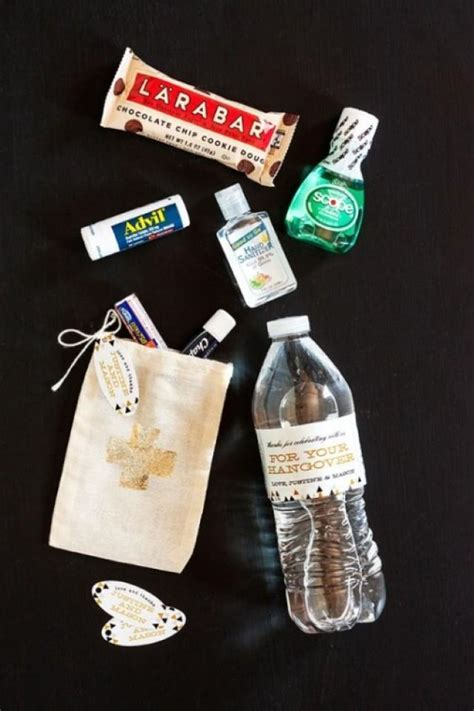 The Best Guest Favor Ever: DIY Wedding Hangover Kit