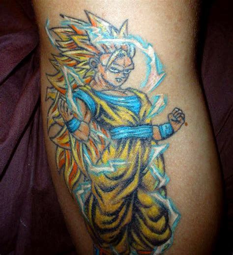 goku tattoo designs tattoos goku returns the dao of