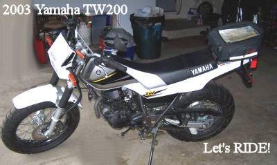 2003 yamaha tw200 for sale