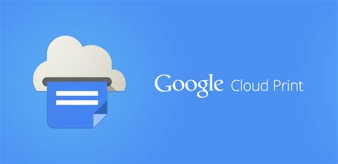 cloud print android cloud print android app now available for