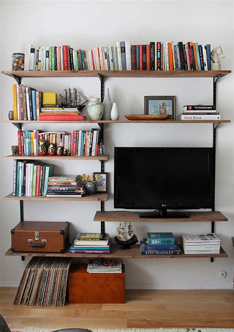 apartment diy diy mounted shelving almost makes