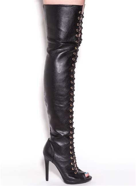 thigh high leather boots thigh high boots leather bsrjc boots