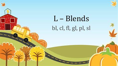 reading l blends activity 1