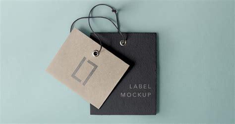 brand name tag design psd label brand mockup vol6 psd mock up templates pixeden